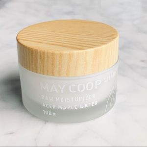 MAY COOP Raw Moisturizer with acer maple water